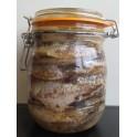 Anchois au sel 750 g net égoutté