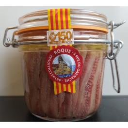 Filets d'anchois à l'huile de tournesol 350 g net total